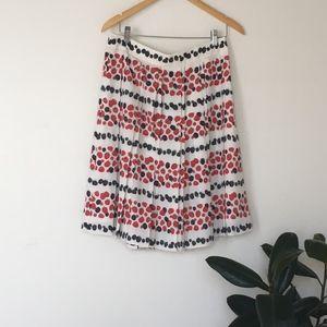 J. Crew Berry Skirt